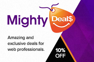 Get 10% off with code '24ways' on all deals from MightyDeals.com: The best deals for web designers and developers.